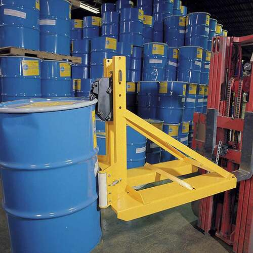 Single Fork Mounted Drum Lifters