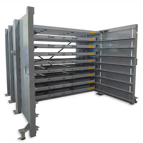 Sheetmaster Sheet Metal Storage Rack Open