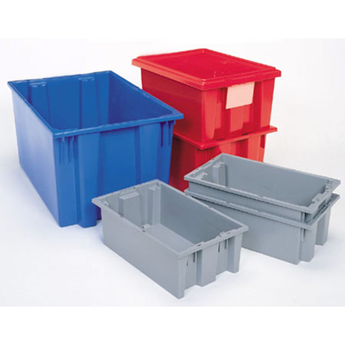 Akro-Mils Nest and Stack Plastic Totes Variety