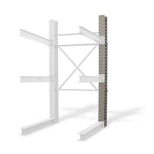 Cantilever rack single upright