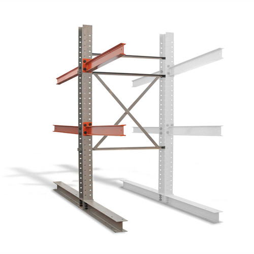 Double sided cantilever rack add on kit