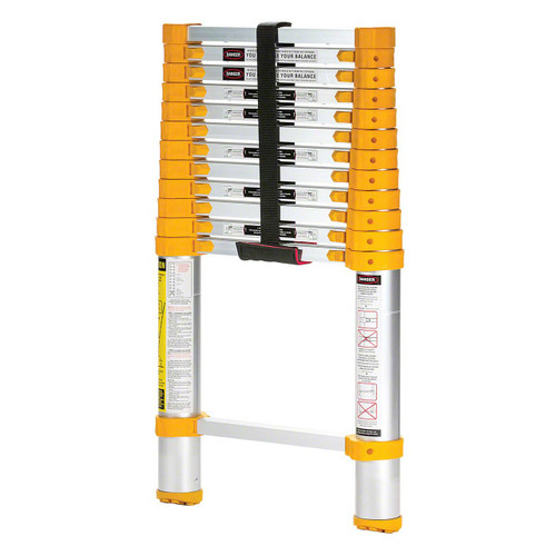Vestil's aluminum telescopic ladder, TLAD-12