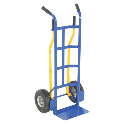 This multi-purpose dolly converts to two or four handles
