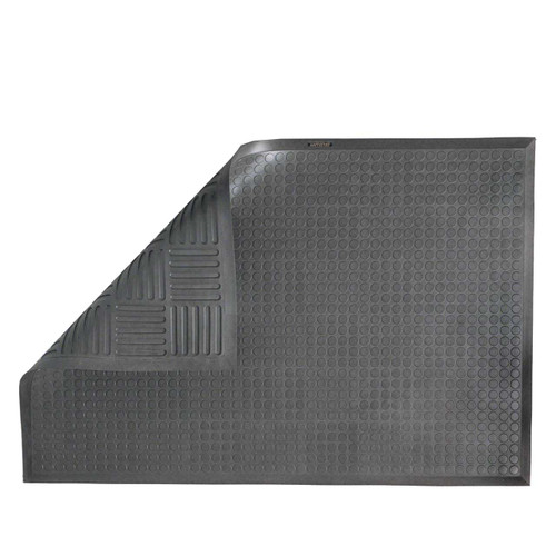 Ergomat Complete Smooth ergonomic mat works well for customer service counters, pharmacies, retail and assembly lines.