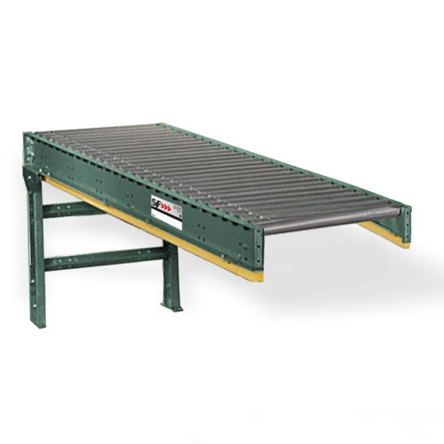 These lineshaft conveyor straight sections are the workhorses of a lineshaft conveyor system