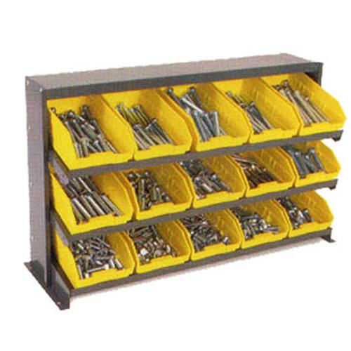 Yellow Bench Pick Rack