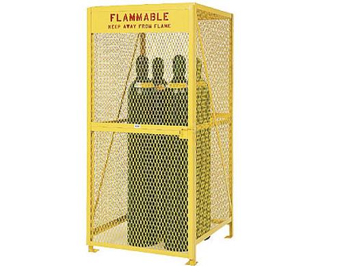 Vertical Gas Cylinder Storage Cabinet
