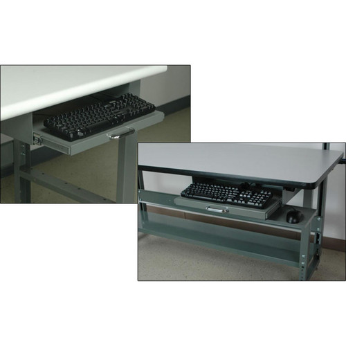 Workbench Pull-Out Keyboard Tray