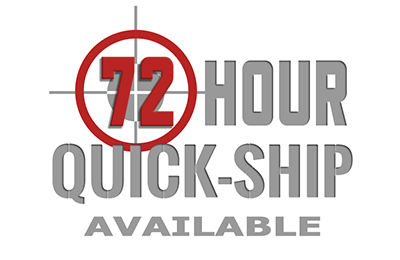 72-hour Quick Shipping Available