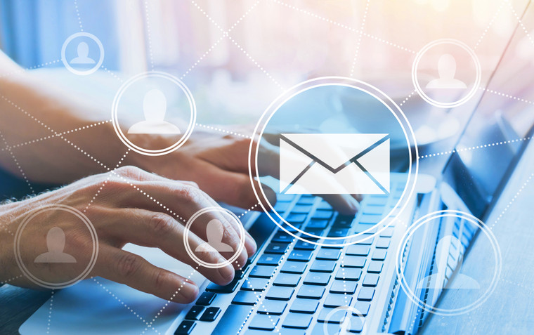Email advertising banner