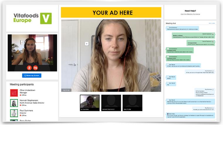 Video Meetings Sponsor