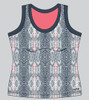 CLEARANCE Bolle Ladies Serpentine Tennis Tank Top - Serpentine Print