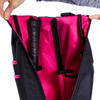 40 Love Courture Ladies Pickleball Backpacks - Black / Pink Lining