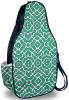 NTB Ladies Pickleball Bags - Piper (Green & Navy Preppy)