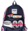Ame & Lulu Ladies Little Love Tennis Backpacks - Purple Pops