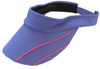 EP New York Ladies Tennis Visors - A Place in the Sun (Grape Ice Multi)
