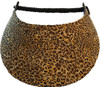 Miracle Lace Ladies Tennis Visors - Leopard (Animal Prints)