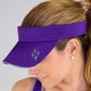 JoFit Ladies Jo Tennis Visors - Purple Mist
