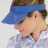 JoFit Ladies Jo Tennis Visors - Indigo