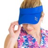 JoFit Ladies Jo Tennis Visors - Nautical Blue