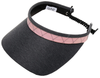 Glove It Ladies Print Tennis Visors (w/ Twist Cord) - Rose Gold Quilt
