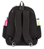 Ame & Lulu Ladies Courtside Tennis Backpacks - Black and Grey