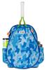 Ame & Lulu Girl's Little Love Tennis Backpacks - Blue Camo