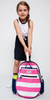 Ame & Lulu Girl's Big Love Tennis Backpacks - Candy