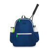 Ame & Lulu Ladies Courtside Tennis Backpacks - Navy and Green