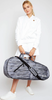 Ame & Lulu Ladies 3 Racquet Tennis Bags - Black Grunge