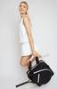 Ame & Lulu Ladies Sweet Shot 2.0 Tennis Tote Bags - Black