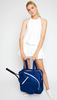 Ame & Lulu Ladies Sweet Shot 2.0 Tennis Tote Bags - Navy