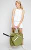 Ame & Lulu Ladies Sweet Shot 2.0 Tennis Tote Bags - Army