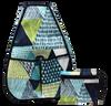 40 Love Courture Ladies Sophi Tennis Backpacks - Slices with Black Lining