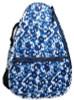 Glove It Ladies Tennis Backpacks - Blue Leopard