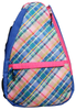 Glove It Ladies Tennis Backpacks - Plaid Sorbet