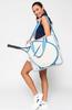 Ame & Lulu Ladies Hamptons Tennis Tour Bags - Scuba