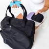 Ame & Lulu Ladies Sweet Shot 3.0 Tennis Tote Bags - Black