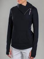 JoFit Ladies Tennis Jumper Jackets - Fiji (Black)