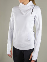 JoFit Ladies Jumper Tennis Jackets - Cosmopolitan/Lanai (White)