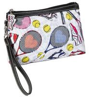 Sydney Love Ladies Tennis Cosmetic Bag/Wristlets – Tennis Everyone