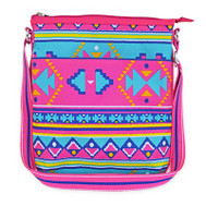 All For Color Ladies Tennis Crossbody Purses - Aztec