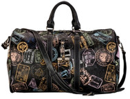 Sydney Love Ladies Duffel Bags - Bon Voyage Passport Print