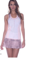 SALE Lucky in Love Ladies At First Blush Colorblock Tank
