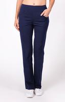 "Tail Ladies Eloise 32"" Inseam Pull On Tennis Pants - ESSENTIALS (Navy Blue)"