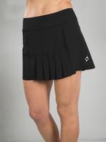 d01517ff9d9 JoFit Ladies   Plus Size Dash Pleated Tennis Skorts - Melon Ball (Black)