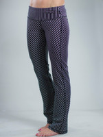 Diagonal Stripe Packable Pants