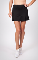 "Tail Ladies Doral 14.5"" Pleated Tennis Skorts - ESSENTIALS (Black)"