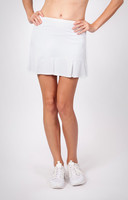 "Tail Ladies & Plus Size Doral 14.5"" Pleated Tennis Skorts - ESSENTIALS (White)"