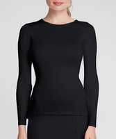 Tail Ladies Felisha Long Sleeve Tennis Tops - ESSENTIALS (Black)